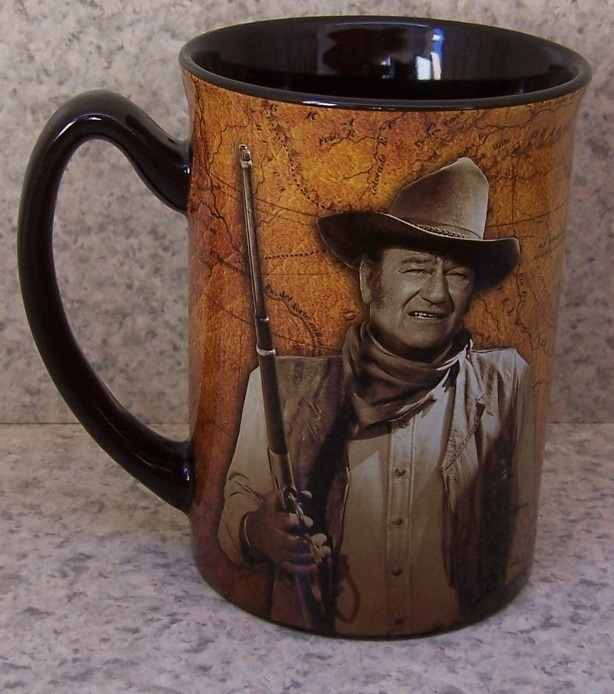 John Wayne Shoot You entertainment coffee mug thumbnail